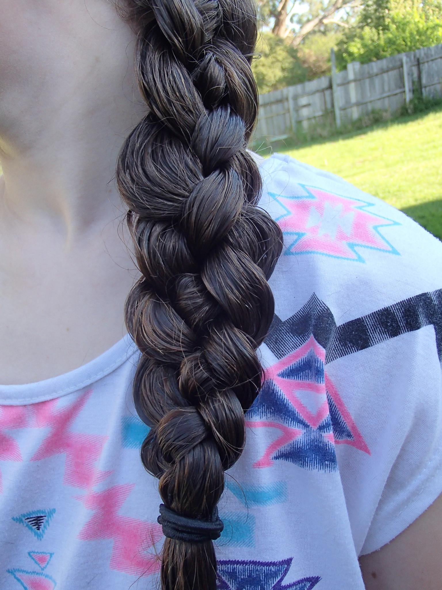 Four Strand Braid Seton Girls Hairstyles