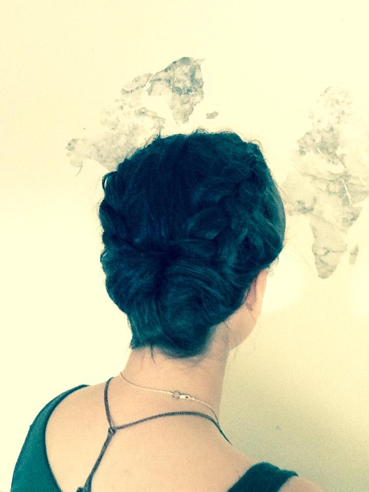 Dutch Braided Updo Short Hairdo Seton Girls Hairstyles