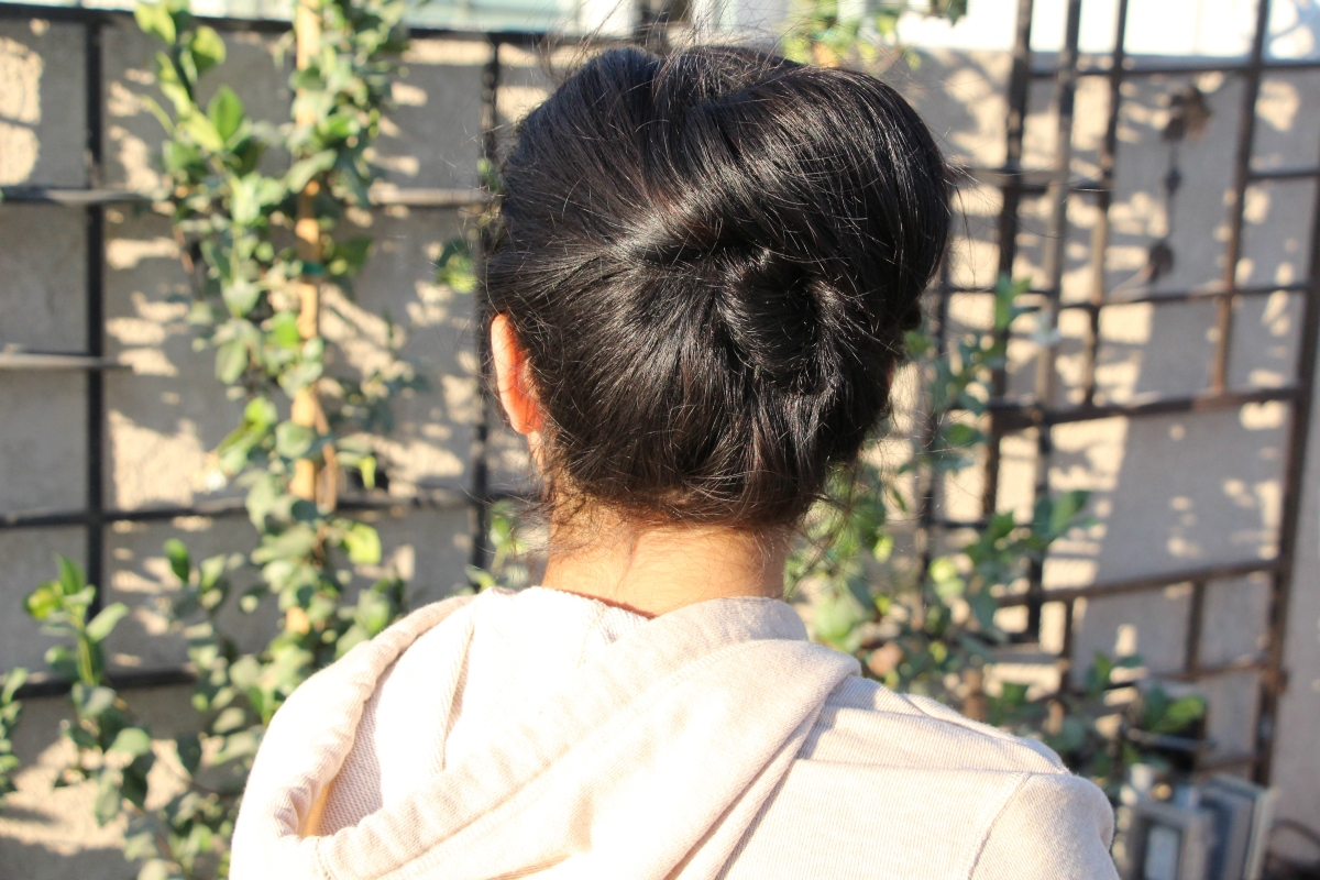 Seashell Bun | College Hairstyle