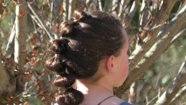 bubble braid | sports hairstyle – seton girls' hairstyles