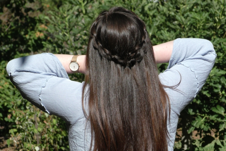 Diy Dutch Waterfall Braid Seton Girls Hairstyles